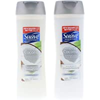 Suave Essentials Tropical Coconut Shampoo and Conditioner 15 Fl. Oz.