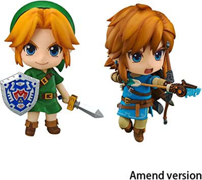 The Legend of Zelda: Breath of The Link Y Wild MajoraS Mask Link Nendoroid Figura De Acción: Amazon.es: Juguetes y juegos