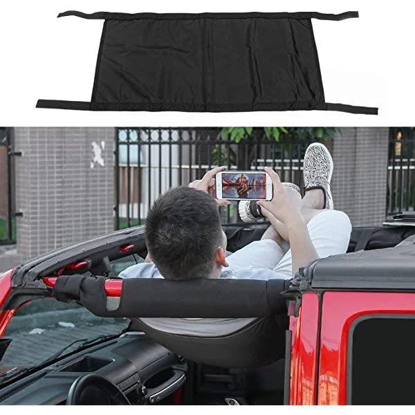 RT-TCZ New Style Red Car Roof Hammock Car Bed rest For Jeep Wrangler 2007-2017