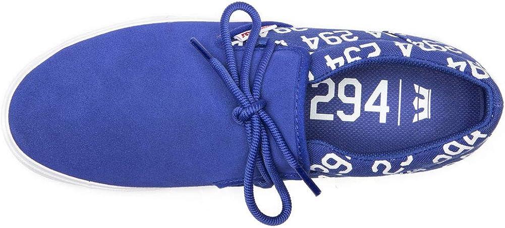 Supra Mens Cuba Low Top Sneaker Shoes Pantone 294 Dodgers Blue