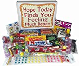 Feel Better Soon Care Package Gift Box of Retro Candy