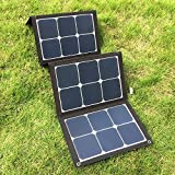 Foldable 18V 100W Sunpower Solar Charger Pack Outdoor Emergency Multi-function Ultra-light USB Solar Charger