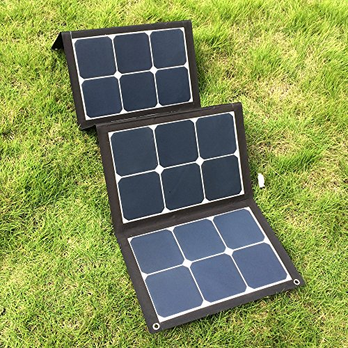 Foldable 18V 100W Sunpower Solar Charger Pack Outdoor Emergency Multi-function Ultra-light USB Solar Charger by NYRK Giant