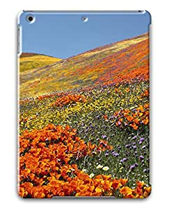 PhoenixShop Ipad Air ( iPad 5 5th Generation) Cases, Beauftiful Spring Field Lightweight 3D Protective Cases For iPad Air
