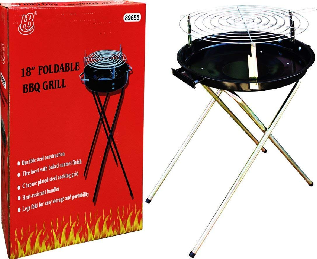 HOMEBAY 18-Inch Portable and Foldable Grill by HOMEBAY