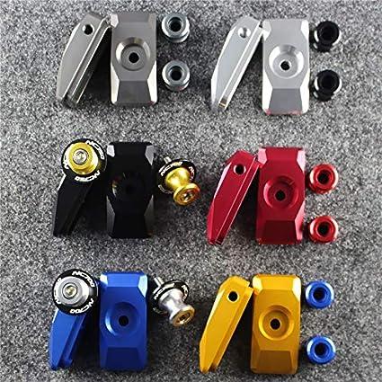 Color : Blue Typ Motorcycle Accessories CNC Aluminum Swingarm Spools Slid for Honda NC700 NC 700 S//X NC700S NC750X NC750 NC 750 S//X