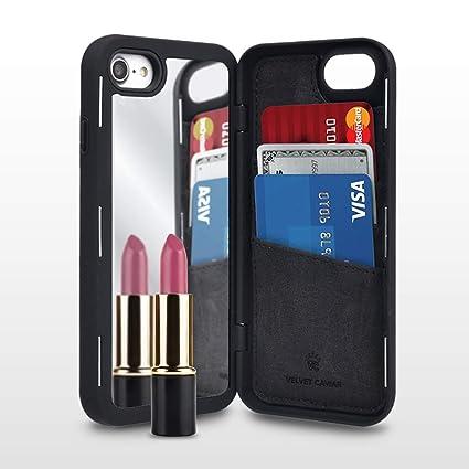 Amazon.com: Funda para iPhone 7/iPhone 8 con espejo oculto y ...