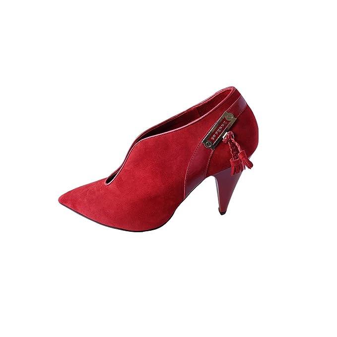 e2ed0a8ec0522 GF Ferrè Red Women's Ankle Boots High Heels Tg 39: Amazon.ca: Home ...