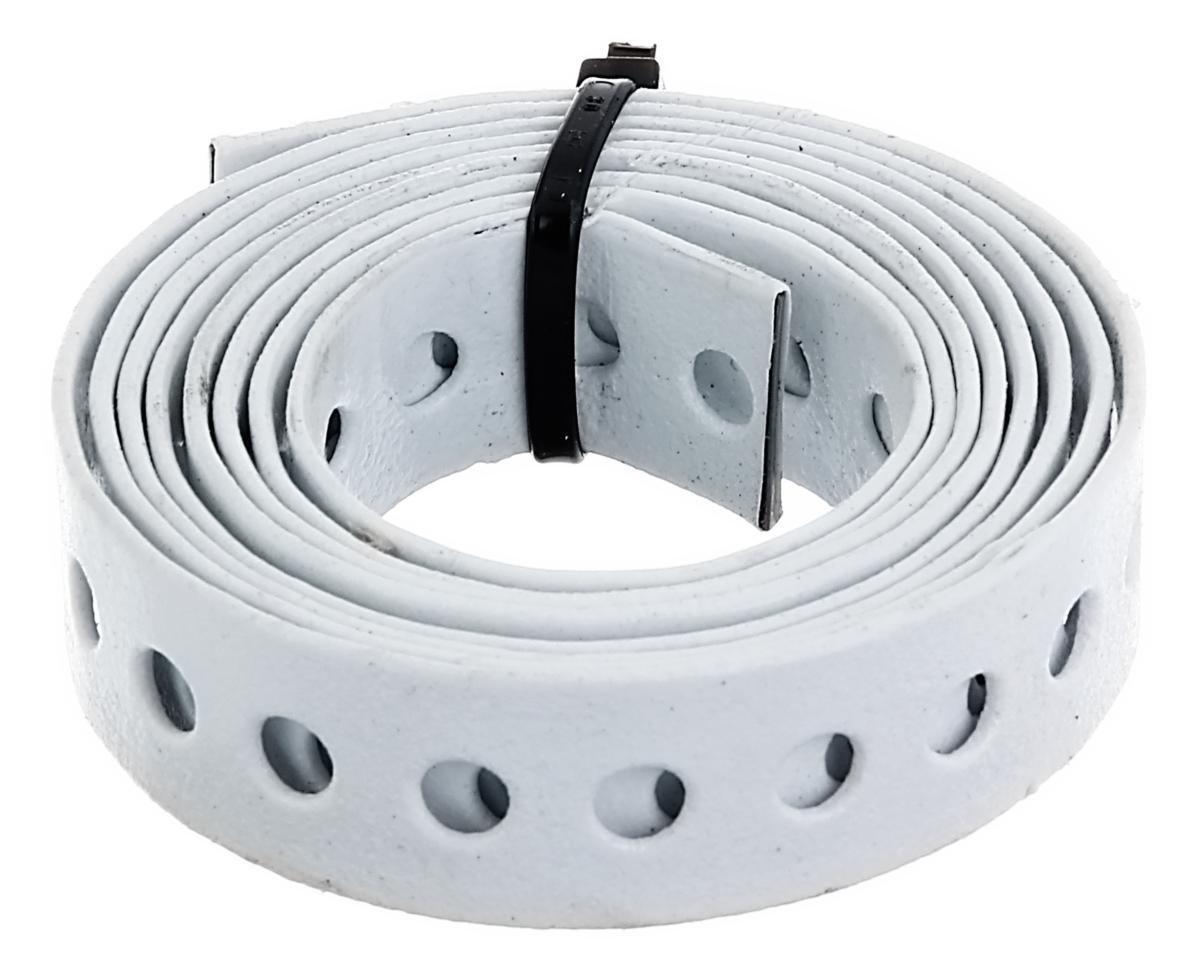 GAH-Alberts 334260 Lochband wei/ß kunststoffbeschichtet Breite: 20 mm L/änge: 1,5 m