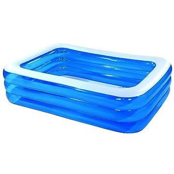 Piscinas hinchables XULAN Piscina inflable para niños Familia de gran tamaño para baño Gruesa piscina familiar para niños (Tamaño : 300*185*65): Amazon.es: ...