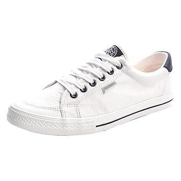 YaNanHome Chaussures Bateau Chaussures Homme Chaussures de Toile d été Style  Coréen Sauvage Décontracté Chaussures fcfe68d74716