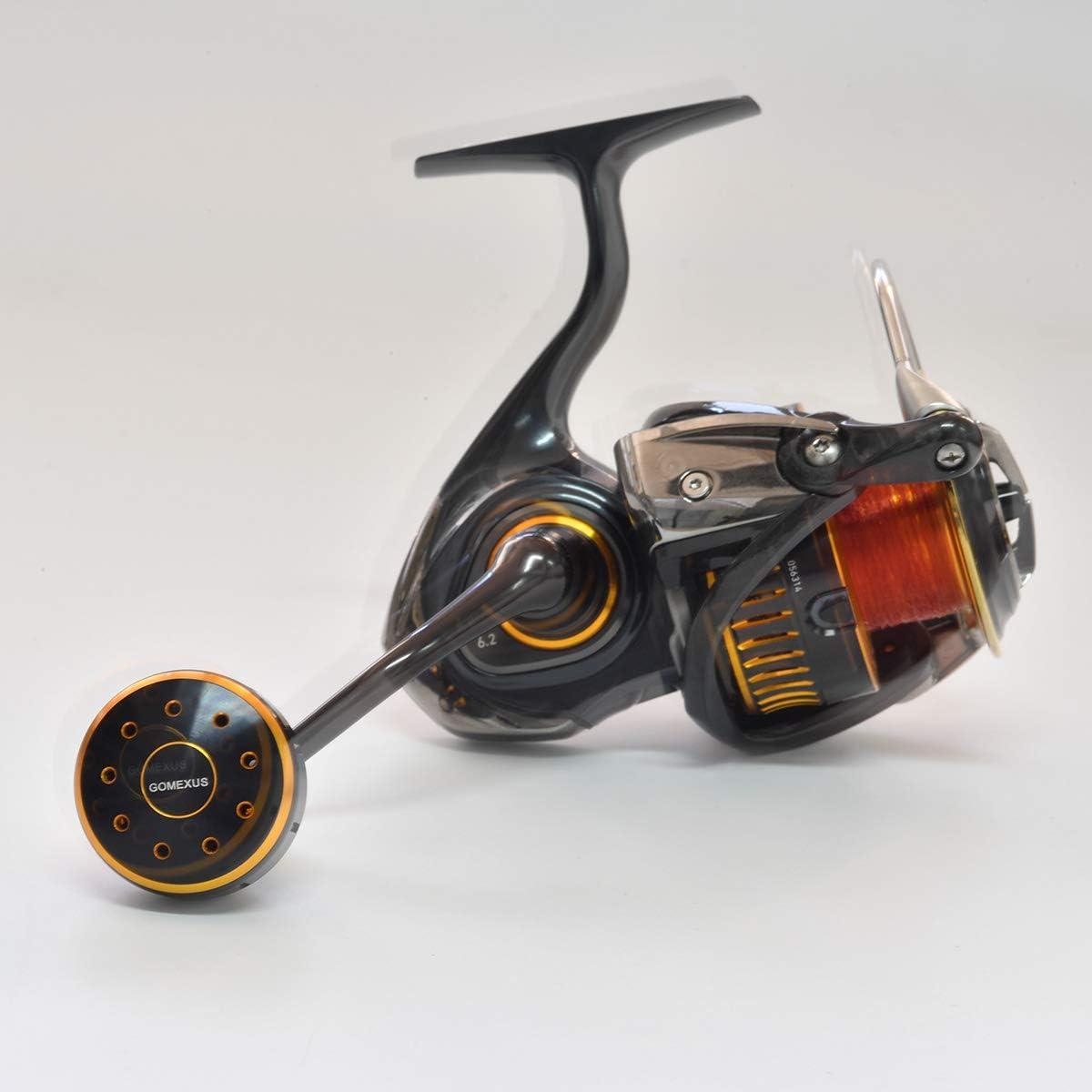 WXZ Xeniae 30 mm Bobine poign/ée Bouton Fit for Shimano STRADIC CI4 SW STRADIC FK Sahara Sedona Stella NASCI Daiwa Fuego tatula Steez Caldia Exist xeniae Color : Black Blue