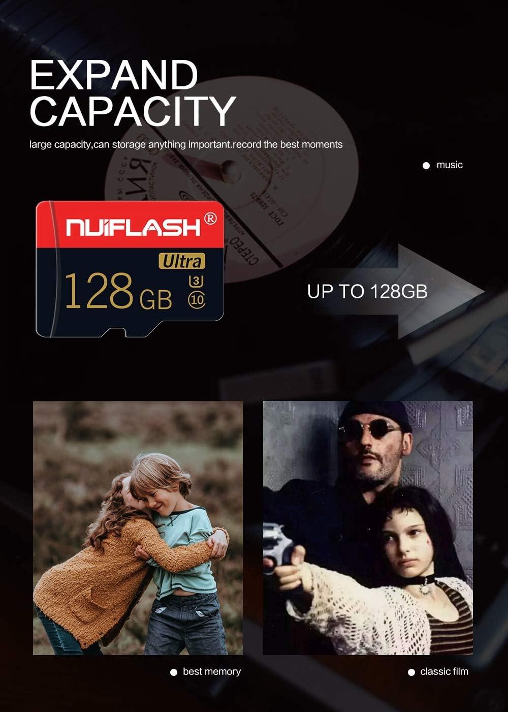 AZLMJXH High-Speed tf Card 32gb Mobile Phone Memory 64g Card Monitoring Memory Card 128g Memory Card sd Card,128G