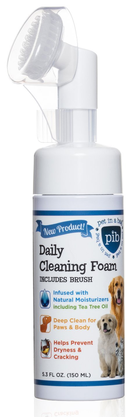 Pet In A Bag Daily Cleaning Foam With Brush - Best Pet Odor Eliminator - Clea.. 8