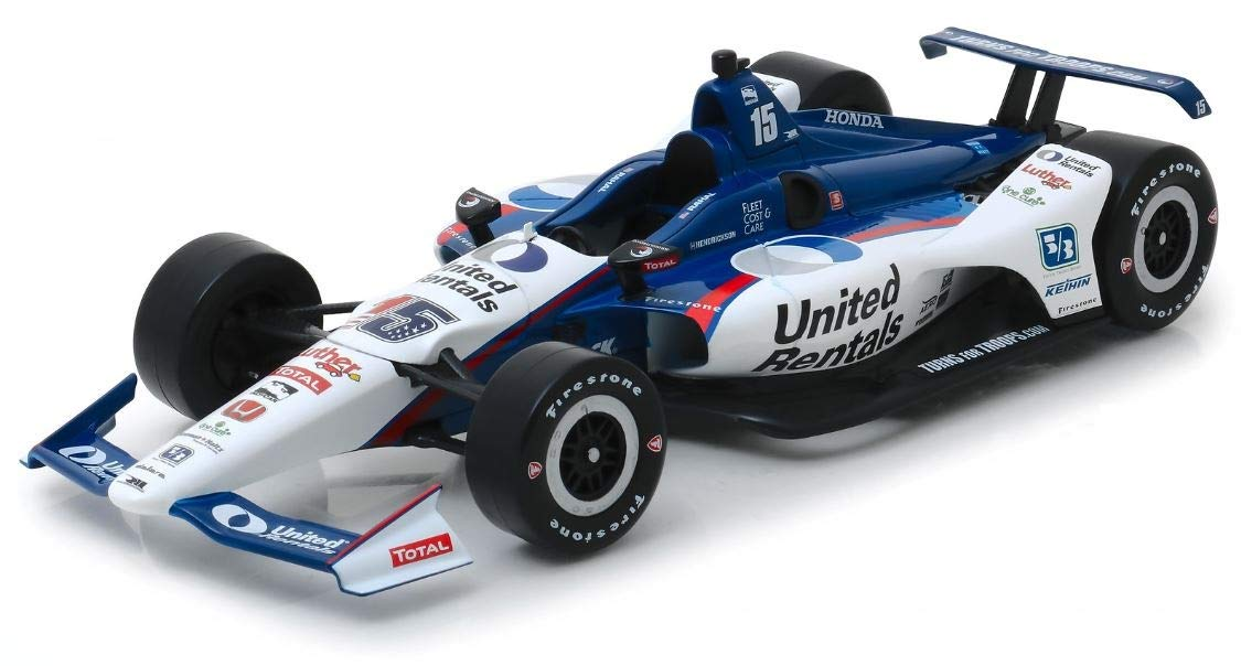Greenlight 1:18 Scale 2019#15 Graham Rahal/Rahal Letterman Lanigan Racing, United Rentals