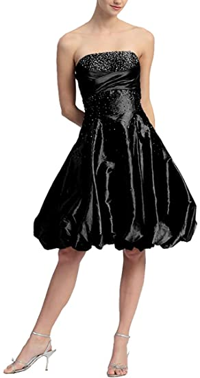 Available Celebrity Prom Gown Cocktail Dress Short Abi-Taffeta dress by Topshop! - Black