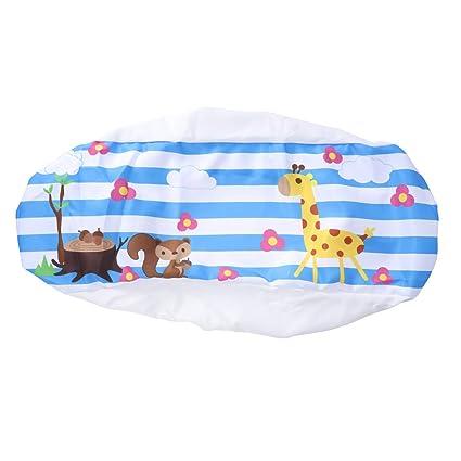 Vosarea Air Conditioner Dustproof Cover Indoor Wall-Mounted Air Conditioner Dust Cover Case (Giraffes and Squirrels)