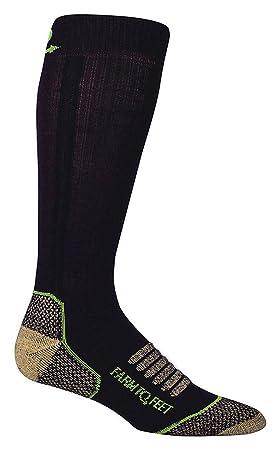 Granja a pies Ely del hombre luz peso caña media calcetines, hombre, color marrón, tamaño X-Large: Amazon.es: Deportes y aire libre