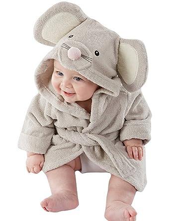 Mädchen Jungen Baby & Fleece Bademantel Robe Super weicher Fleece ...