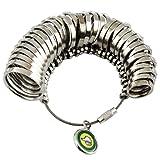 JINTONG リング ゲージ 婚約 指輪 サイズ 測定 1号 ~ 33号 オシャレ 4種 (リング(単体)) NO.06