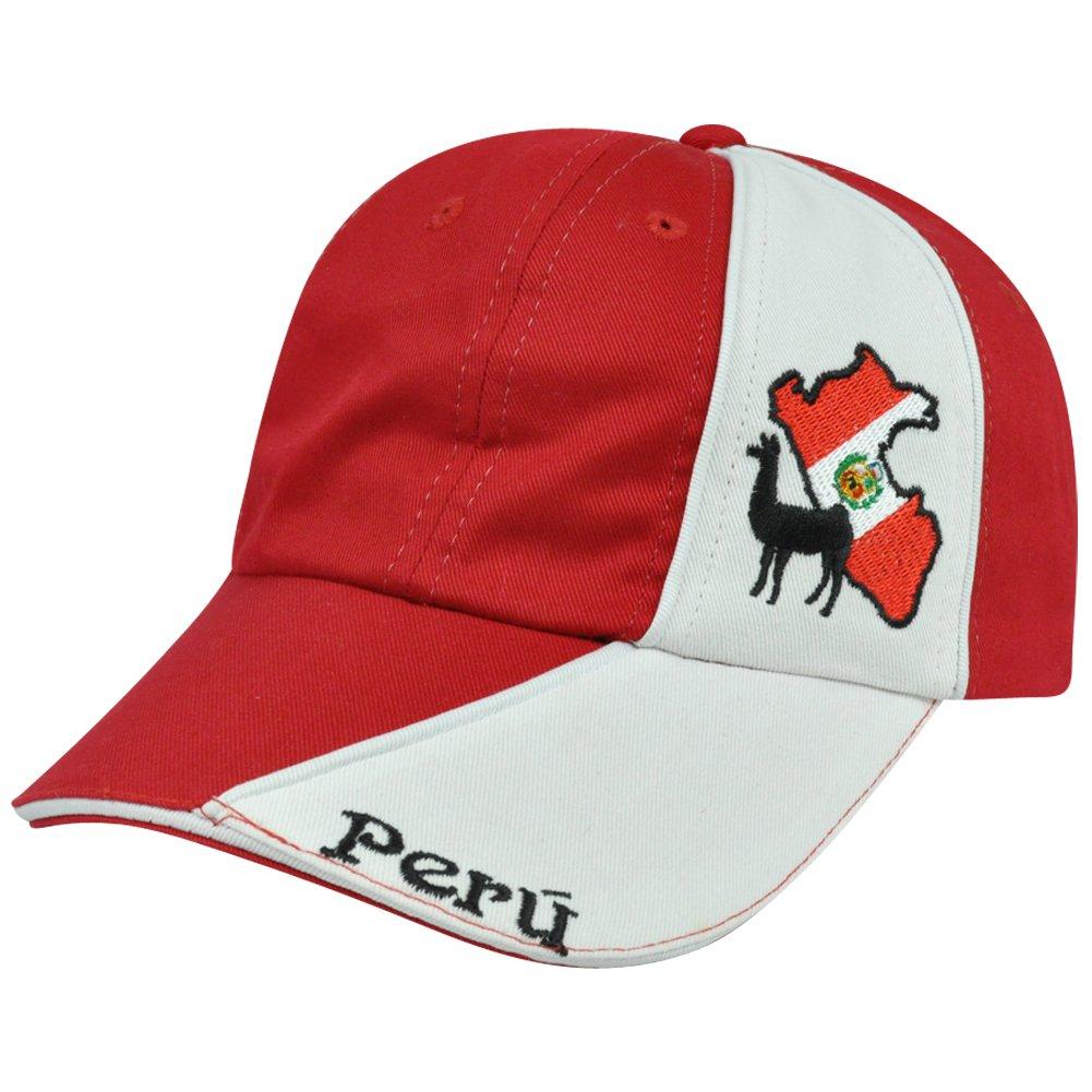 Perú bandera de país Camel sombrero Gorra ajustable Hangerworld ...