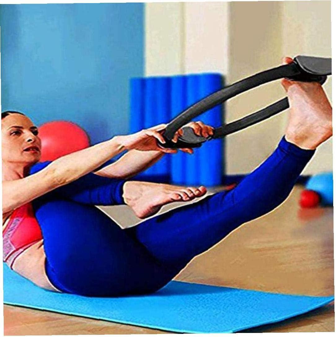 Pilates anneau de musculation fitness Pilates mains poign/ée cuisses anneau magique de remise en forme du corps de perte de poids de lanneau de fitness labdomen et les jambes