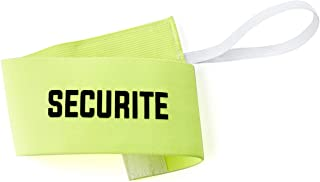 Visiodirect Brassard Sécurité, Taille Senior, Coloris Jaune Fluo