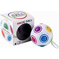 Magic Rainbow Ball Magic Cube Toy Kids Child Educational Toys Stress Reliever