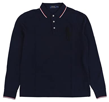 d6a6a1177ee3 Ralph Lauren Mens Long Sleeve Mesh Rugby Polo Shirt at Amazon Men's  Clothing store: