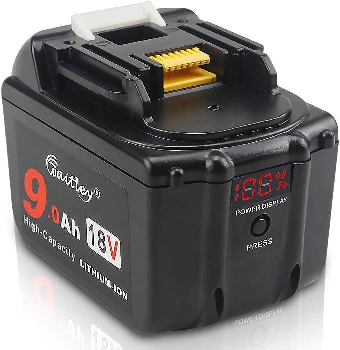 18V 6Ah 5Ah 1.5Ah 3Ah 4Ah Battery For Makita BL1860B BL1850B BL1815 BL1830 1840