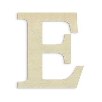 Unfinishedwoodco Oversized Unfinished Wood Letter 18 Inch Epsilon