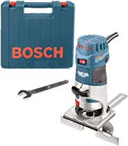 Bosch PR20EVSK-RT Colt Palm Grip 5.7 Amp 1-Horsepower Fixed Base Variable Speed Router with Edge Guide (Renewed)