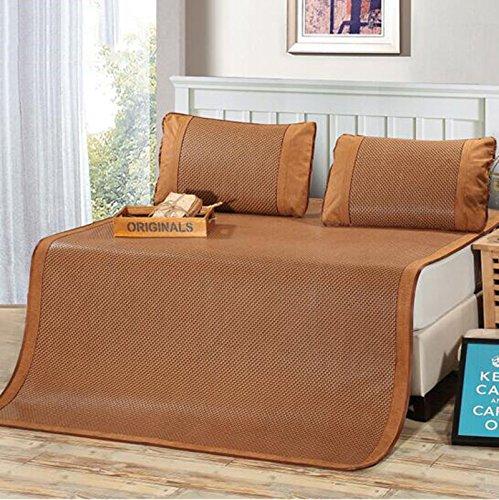 C 1.5 meters bed three pieces Tapis de lit d'été Mats trois ensembles de tapis épais sièges sièges 1,5 mètre   1,8 mètre dortoir étudiant simple double mat trois pièces (Couleur   A, taille