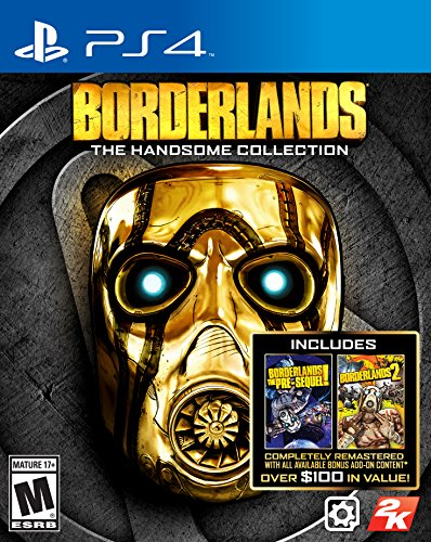 61mqL%2BT1Q%2BL - Borderlands: The Handsome Collection - Playstation 4 by 2K Games