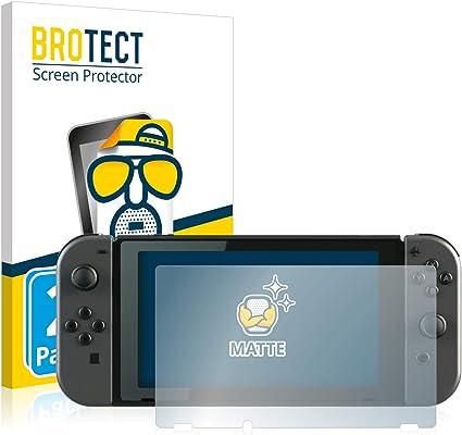 BROTECT Protector Pantalla Anti-Reflejos Compatible con Nintendo Switch (2 Unidades) Pelicula Mate Anti-Huellas: Amazon.es: Electrónica