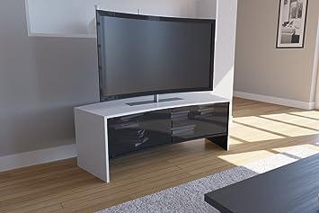 Vcm Designer Tv Mobel Tisch Schrank Rack Gebogene Form Fur Curved