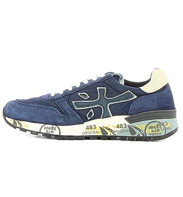 PREMIATA Preisgekrönter Blauer Sneaker Mick 3253  Amazon.de  Schuhe ... 04ef5dbf97
