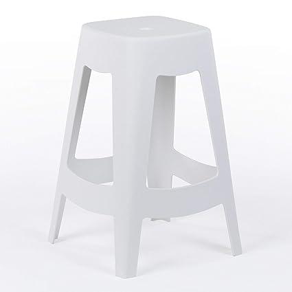 SKLUM Tavolo Alto LIX Bianco Scegli Un Colore