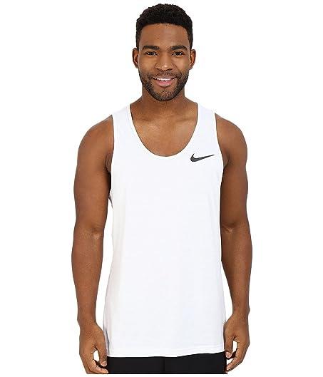Nike Dri-FIT Training Tank Top White/Pure Platinum/Black Men's Sleeveless