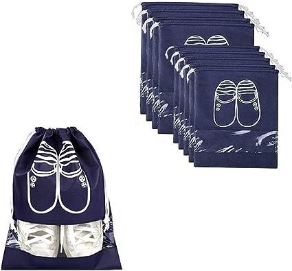 10 Pack Bolsas para Zapatos, Bolsa Impermeable Telas no Tejidas ...