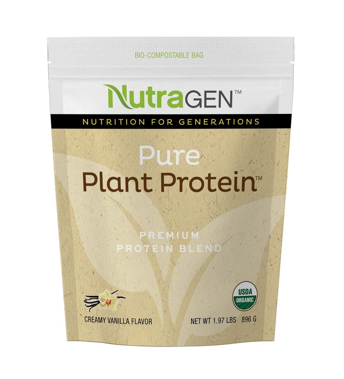 Amazon.com: nutragen Pure Plantas Proteínas (Sabor a ...