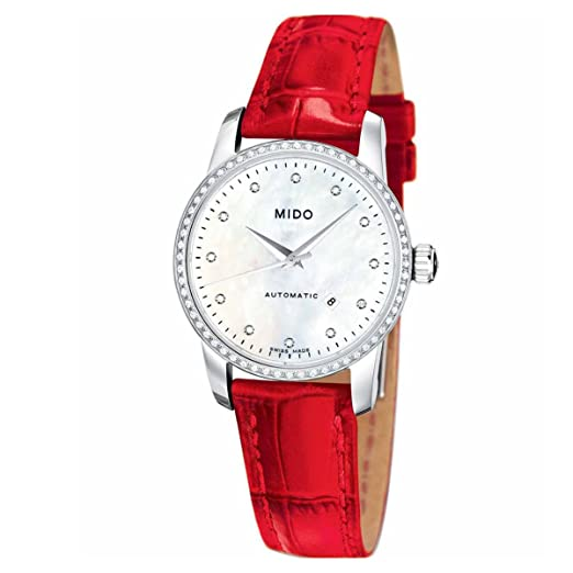 MIDO Womens Automatic Watch M76024697 with Leather Strap