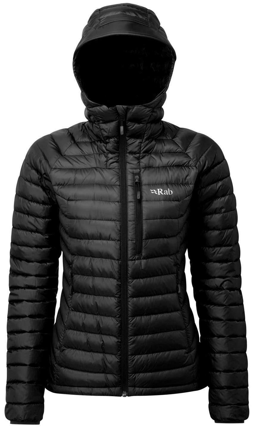 RAB Microlight Alpine Jacket Damen Black/Seaglass 2019 Funktionsjacke