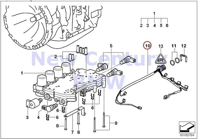 amazon.com: bmw genuine automatic transmission wiring harness with  temperature sensor 525i 530i 325ci 325i 325xi 330ci 330i 330xi x5 3.0i x3  2.5i x3 3.0i z3 2.5i z3 3.0i: automotive  amazon.com