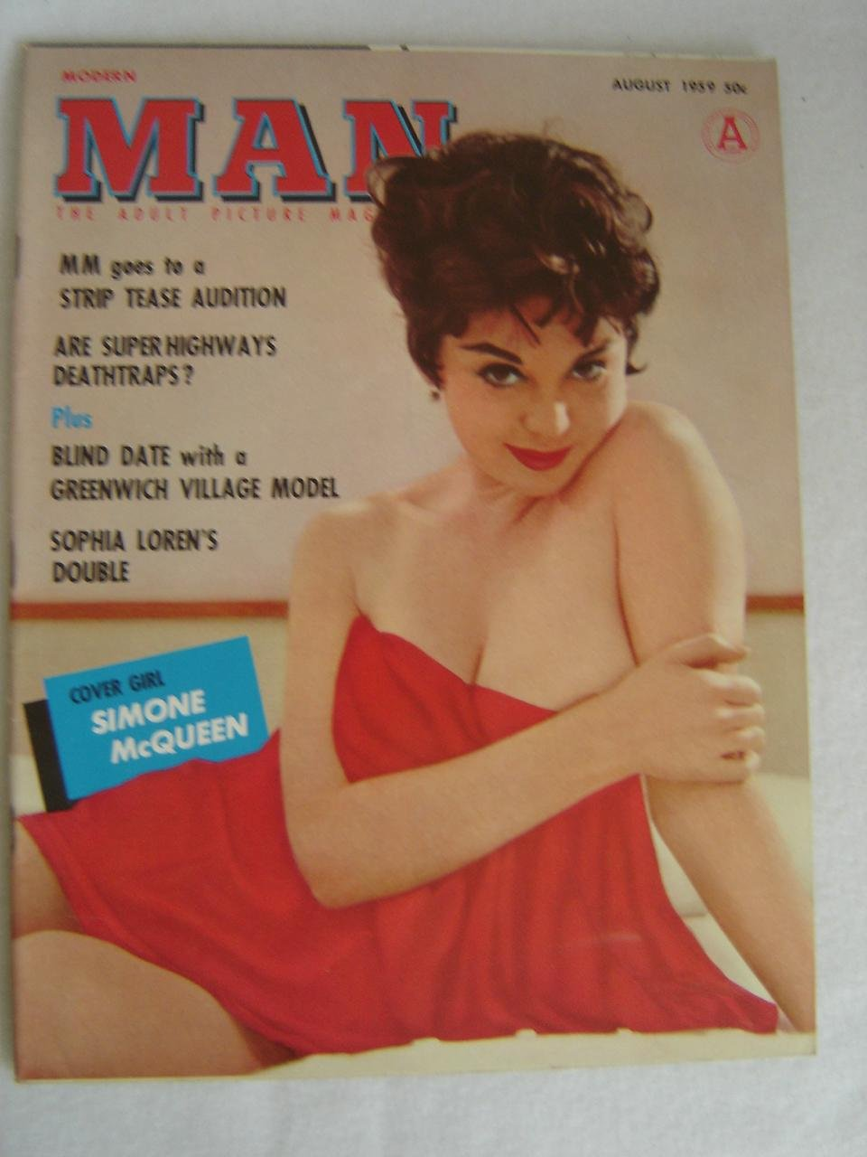 af0c865185b9 Modern Man ; The Adult Picture Magazine ; August 1959 ; Volume VIII No.14-98  Paperback – 1959
