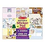 Melissa & Doug Play House! Reusable Sticker Pad image