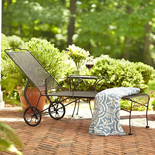hampton bay jackson patio chaise lounge