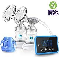 Tire lait, Bellababy Pompes d'allaitement, Sans BPA et 100% alimentaire, Confortable et Rapide, avec extraction facile du lait