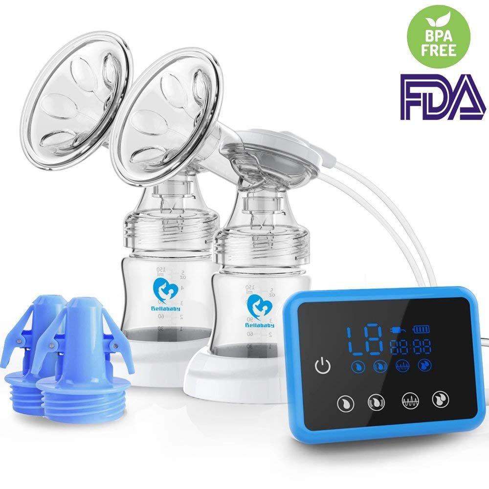 Tire lait electrique, Double Tire-lait avec Fonction Massage et Aspiration product image