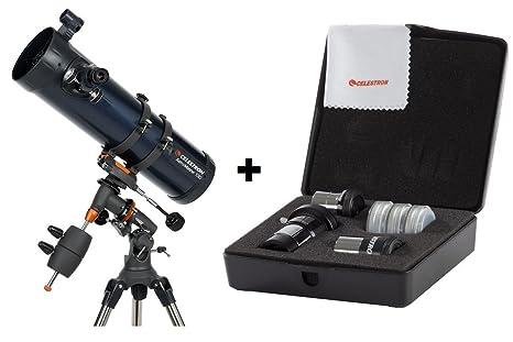 Celestron astromaster eq reflector telescope amazon